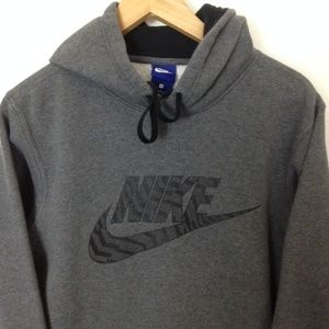 Nike Athletic Men Cotton Blend S Hoodie Sweatshirt